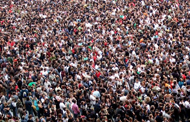 hur många människor på jorden