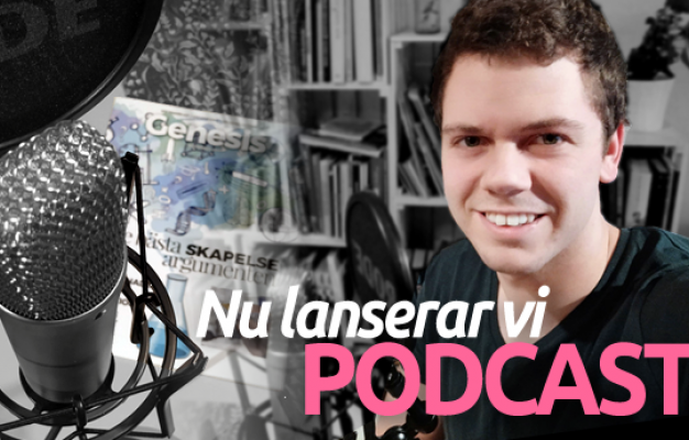 Main image for page: Genesis lanserar podcast!